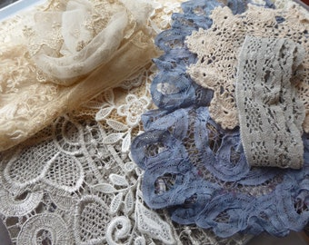 Hope jacare  - A mixture of new and vintage laces and fabrics-  Lace19