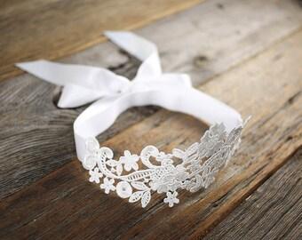 Lace Bridal Garter | Wedding Garter | Keepsake Garter