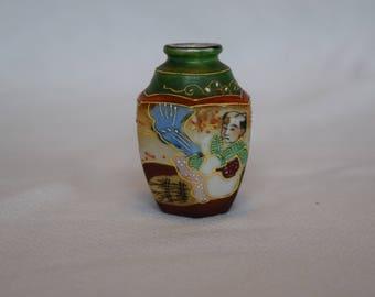 Miniature Satsuma Vase by TRICO
