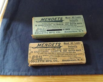Two boxes of Mendets Collette Mfg