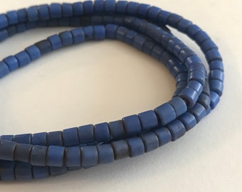 Vintage African Glass Tile Beads