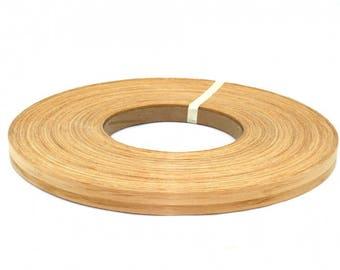 bamboo caramel pre-glued wood veneer edgebanding