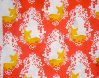 Sweet as Honey Bonnie Christine Cherished Deer bergamot Art Gallery fabric FQ or more