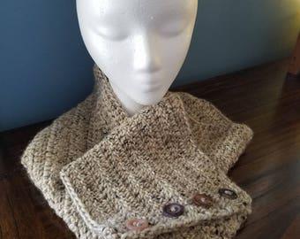 Women's Infinity Scarf - Crochet