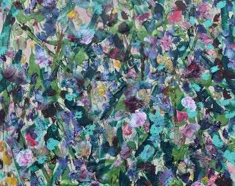 Abstract Art - 24 X 18 - Original Mixed Media