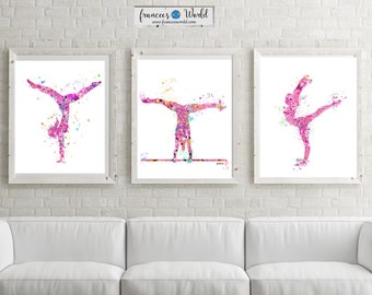 Gymnastics Gift,teen gift Gymnastics Wall Art, Gymnastic Printable, Gymnastic party,Sport Print, Gymnast-girl room decor