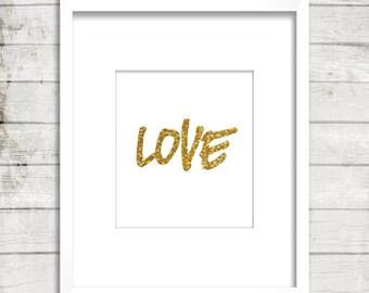 Love, Printable, Digital Art, Poster, Home decor, Wall decor, Wall art
