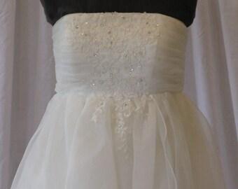 Wedding Gown NEW White UK size 10