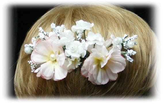 Beautiful WEDDING HAIR COMB . . . in your choice of colors