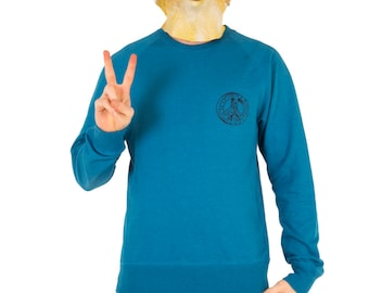 Ban the Bomb! Recycled Cotton Jumper