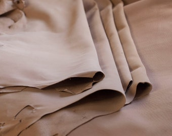 Undyed Goat and Calf Splits (6 Pack) - Vegetable Tanned