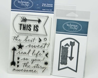 DESTASH -- Technique Tuesday This Is -- Stamp and Die Set