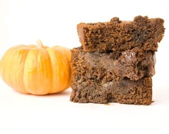 Pumpkin Chocolate Salted Caramel Bread - 1 loaf, over 2lbs