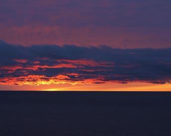 Sunrise Set of Photo Cards