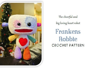 Frankens Robbie the Robot (PDF Pattern)