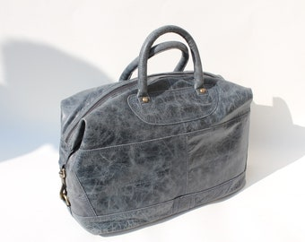 Gertrude Small Tote and Cross body In Navy Holdall