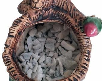 Exotic Monkey Ceramic Sculpture Statue