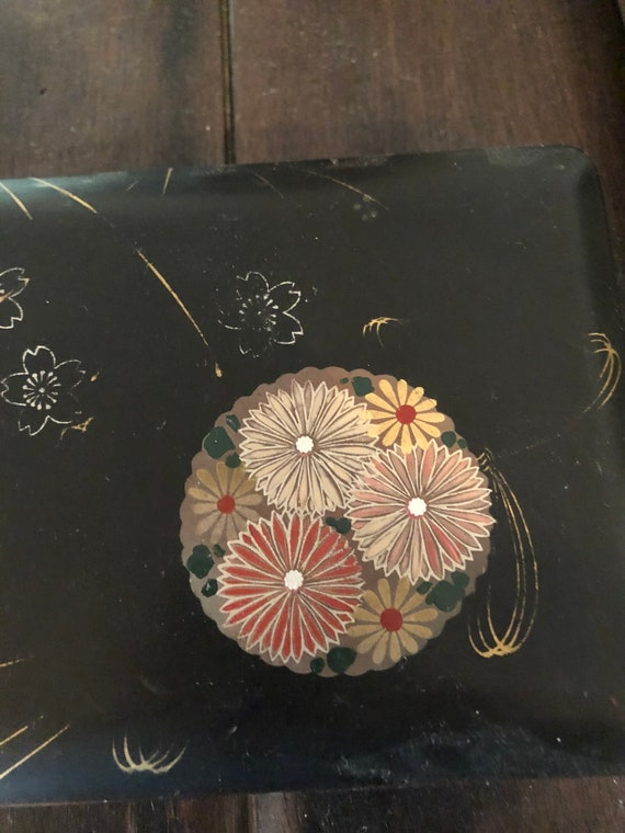 Chinese Decorative Inlaid and painted box