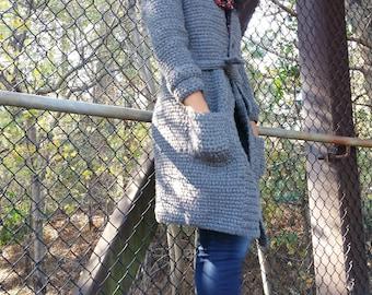 Crochet Coat Pattern - Patron Crochet  Crochet Jacket Pattern Crochet Cardigan Pattern - Crochet Coat Pattern -  GuChet - Plus Size Crochet