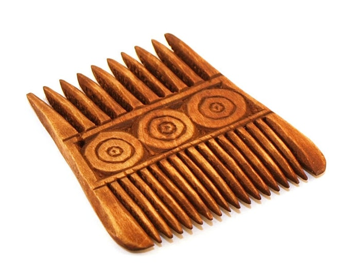 Viking Wooden Double Comb