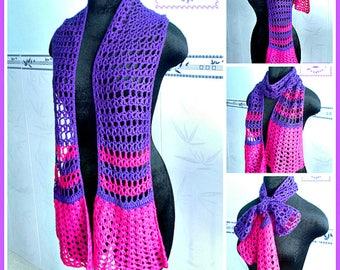 Culotte Scarf pdf crochet pattern