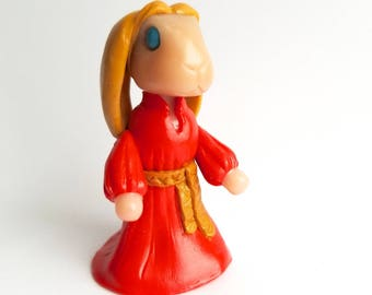 Buttercup inspired rabbit figurine from The Princess Bride