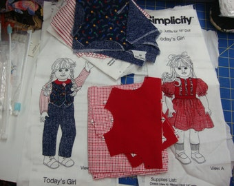 simplicity doll clothing 4