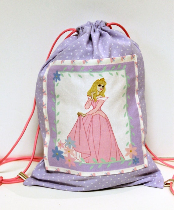Disney Sleeping Beauty Child's Drawstring Backpack