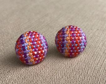 She Sells Seashells 16mm stud earrings