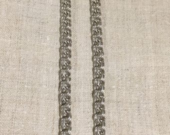 Solid silver heavy chain from ukraine 62 g