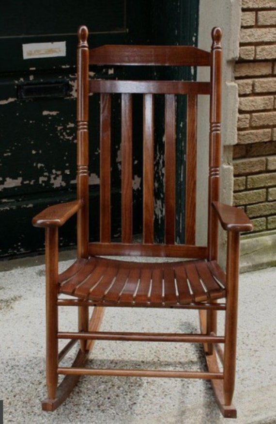 Nice Solid Ash Wood Rocking Chair Custom Engraving Perfect Anniversary,  Retirement Or Wedding Gift