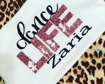 Mommy and me dance t-shirts!!