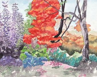 Fall at Frelinghuysen Arboretum Original Landscape