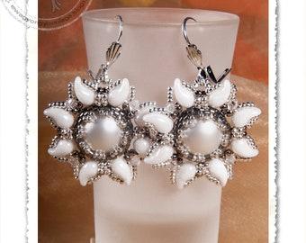 Veron earrings PDF pattern