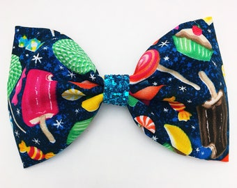 Spaced Out Sweets Bow Clip