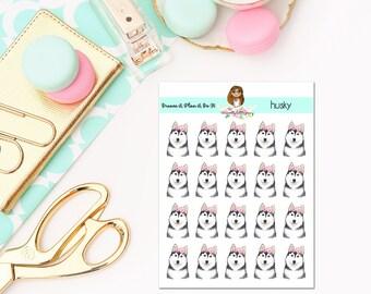 Husky Planner Stickers
