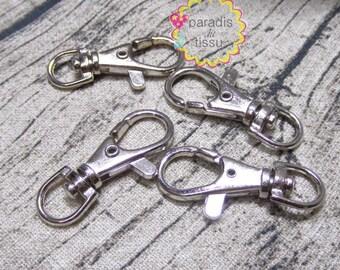 Set of 10 pcs x large 3x1.5cm metal snap fasteners