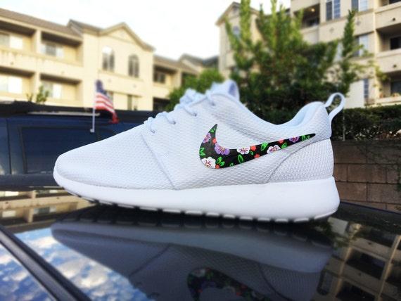 Run Nike Roshe Tissé Paniers Colorés