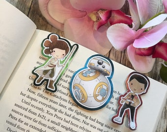 New Star Wars Inspired Bookmarks