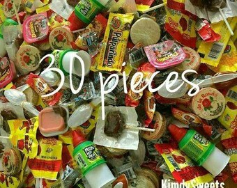 Mexican candy mix, 30 pieces GREAT VARIETY!