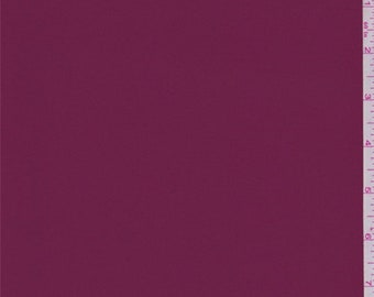 Wine Red Double Georgette, Fabric By The Yard