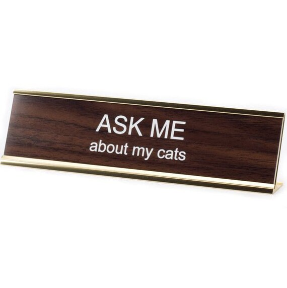 creative funny name desks desk signs plaque table plates fantastic placard insight most door office