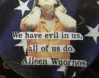 Aileen Wuornos Thrift Art Tin