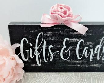 NEW Gift Table Wedding Sign~ Rustic Wedding Gifts and Cards Sign~Presents Sign~Rustic Wedding Signs~Wedding Signs~Rustic Wedding Decor~