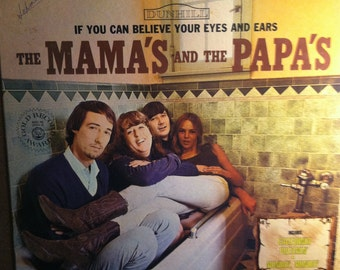 The Mamas & The Papas If You Can Believe Your Eyes And Ears Vinyl Rock Record Album