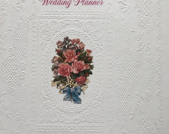 Wedding Planner Hallmark 1980s Unused Vintage Hallmark Bride Gift Engagement Gift