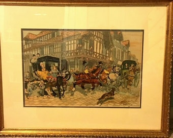 Carriage Ride by Georges Busson