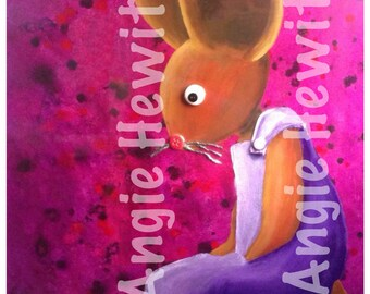 She was a Mouse by Angie Hewitt Art Download