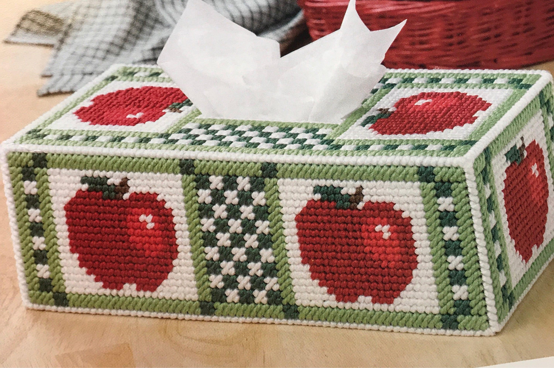 Apple Tissue Box Cover bekommen gut Geschenk Küche Dekoration
