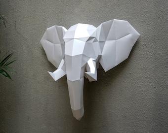 Elepant Paper Trophy